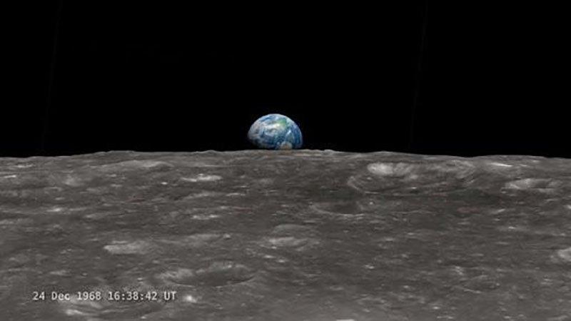 Earth on the Moon?